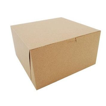 Southern Champion Tray 0977K Kraft Paperboard Non Window Lock Corner Bakery Box, 10