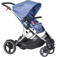 Phil and Teds Voyager Buggy in Blue Marl