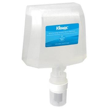 Kleenex KIM 91600 1200 ml Moisturizing Instant Hand Sanitizer - 2 Per Case