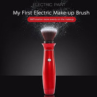 1pcs Electric Makeup Brush Professional BB Cream Cosmetic Make up Brushes With 360 Degree Rotating Head Beauty Massage Brush Makeup Tools (Without battery)