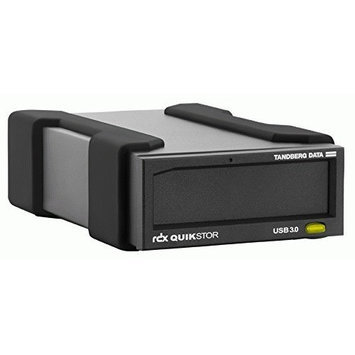 Overland 2TB TANDBERG EXT USB3+ DRV KIT RDX QUIKSTOR W/ MS WIN BKP