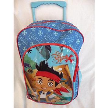 Childrens Large Premium Disney's Jake & the Neverland Pirates Trolley Bag Suitcase