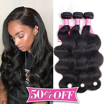 2018 Top Fashion Brazilian Body Wave Hair 3 Bundles Unprocessed Human Hair Weave Hair Extensions Natural Color