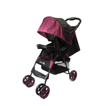 Wonder Buggy Mimmo Deluxe Lightweight One-Hand Folding Multi-Position Compact Stroller - Burgundy