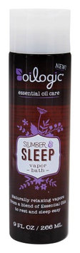 Oilogic - Slumber and Sleep Vapor Bath - 9 oz.(pack of 4)