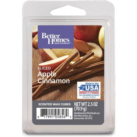 Better Homes Bhg Sliced Apple Cinnamon Fragrance Cube