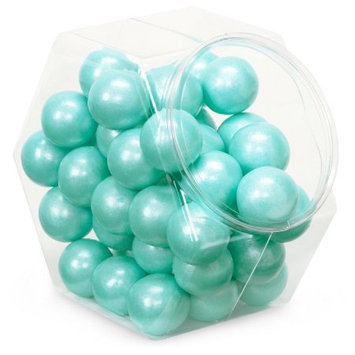 Sweet Works Shimmer Turquoise Gumballs