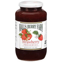 Walls Berry Farm Strawberry Preserves, 32 oz