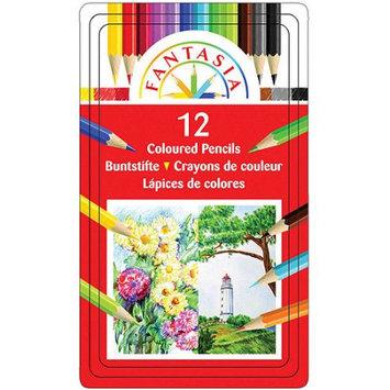 Pro-art Pro Art Fantasia Color Pencil Tin, 12-Pack