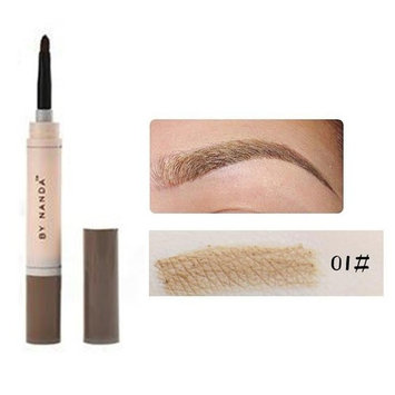 Eye Brow Dye Cream Pencil Long Lasting Waterproof Brown Tint Paint Henna Eyebrow Set Makeup Kit(01#)