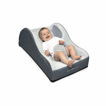 Baby Delight Comfort Nook Plush Infant Napper   Grey   Comfortable and Safer Place for Your Baby to Nap and Lounge   Breathable Side Walls   Portable   Cover is Machine Washable