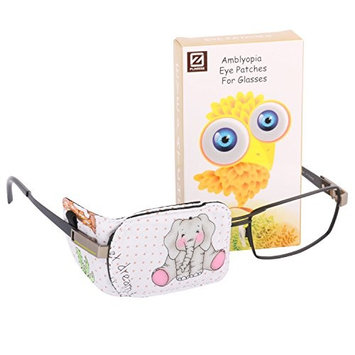 Plinrise Cartoon Pure Cotton Reusable Eye Patches - Amblyopia Eye Patches For Glasses, Strabismus, Lazy Eye Patch For Children,Vision Care Eye Mask