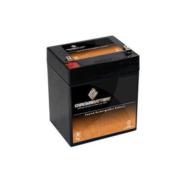 12V 5.9AH SLA Sealed Lead Acid AGM Battery UB1245