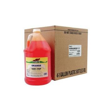 Fox's: Orange Snow Cone Syrup 1 Gallon