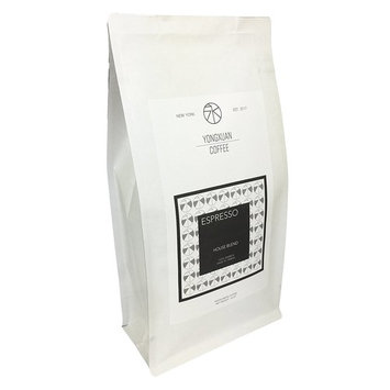 Yong Xuan Coffee ESPRESSO - HOUSE BLEND WHOLE BEAN COFFEE With Fresh Roasted 12 oz