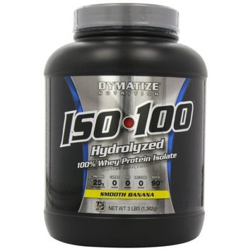 Dymatize ISO-100 Hydrolyzed 100% Whey Protein Isolate - Birthday Cake 1.6 LBS []