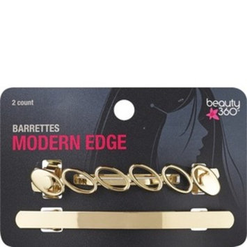Beauty 360 Hair Jewelry Modern Barrettes, 2/Pack
