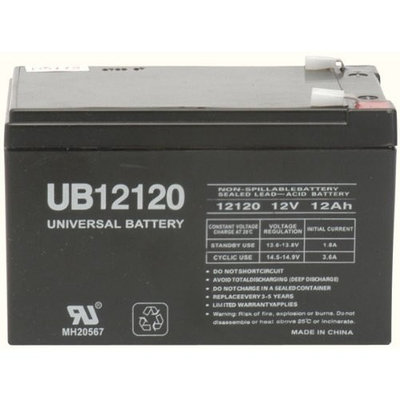 12v 12000 mAh UPS Battery for Hi Capacity B655