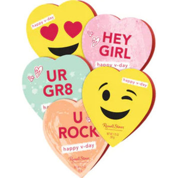 Russell Stover Assorted Chocolates Conversation Heart, 1.75 OZ
