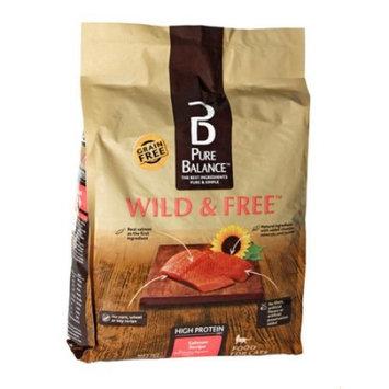 Pure Balance Grain Free Wild & Free Salmon Dry Cat Food, 7 Lb