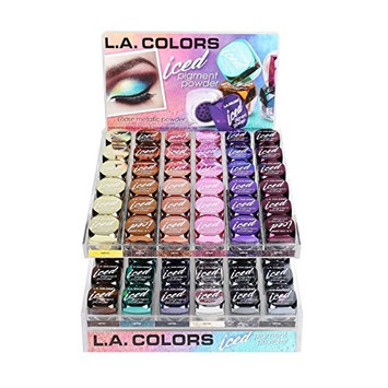 L.A. Colors Iced Pigment Powder Eye shadow Metallic (CEP541 FOILED)