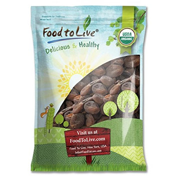 Food To Live ® Certified Organic Dried Apricots (Non-GMO, Bulk, Unsulfured) (14 Pounds)