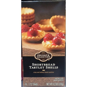 Private Selection Shortbread Tartlet Shells 4.2 oz (Pack of 2)