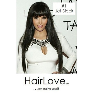 HairLove Synthetic Clip In Hair Extensions, 21 Clips, 150g (18