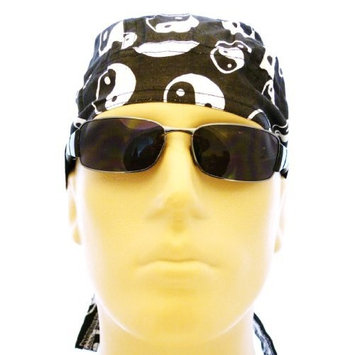 Buy Caps and Hats Yin Yang Bandana Headwrap Cotton Doo RAG Chemo Skull Cap