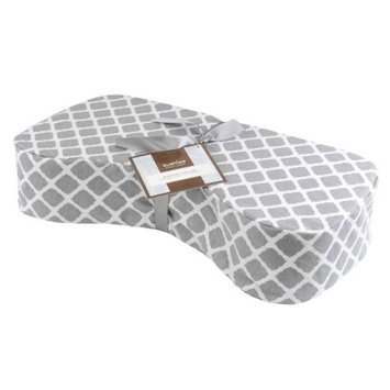 Kushies Nursing Pillow Lattice Grey