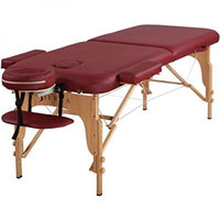 Sierracomfort Relief Portable Massage Table Color: Royal blue