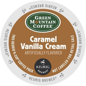 Green Mountain Caramel Vanilla Cream Coffee, K-Cup Portion Pack for Keurig Brewers 96 Count