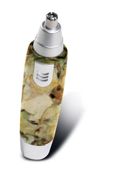 Perfect Life Ideas Camouflage Wet and Dry Ear Nose Hair Trimmer Water Resistant Cordless