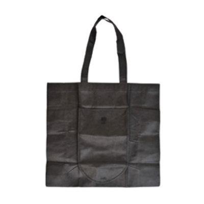 Ddi Foldable Tote Bag-Black (Pack Of 240)