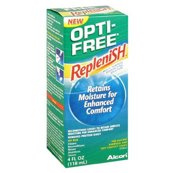 2 Pack - Opti-Free RepleniSH Multi-purpose Contacts Solution 4oz Each