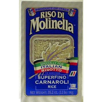 Riso Di Molinella Italian Carnaroli Rice, 2.2-Pound Boxes (Pack of 2)