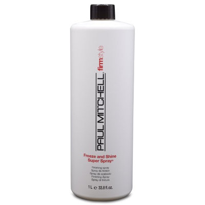 Paul Mitchell Freeze And Shine Super Spray 33.8 oz. by Paul Mitchell BEAUTY