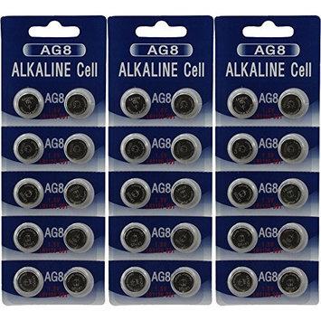 (30) AG8 LR1120 391 SR1120 Alkaline Battery: Health & Personal Care