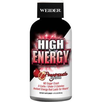 Weider High Energy Pomegranate Flavor Dietary Supplement, 2 fl oz