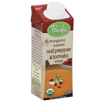 Pacific Foods Pacific Organic Roasted Red Pepper & Tomato Soup, 8 fl oz (Pack of 12)