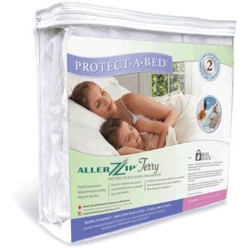 AllerZip Waterproof Bed Bug Proof Zippered Bedding Encasement, King Size (Fits 7 - 12 in. H)