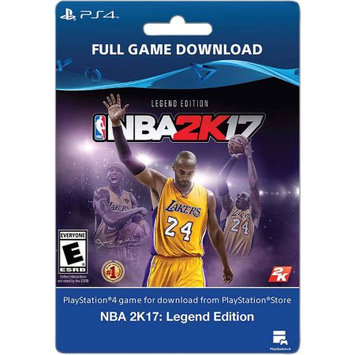 Incomm Sony NBA 2K17: Legend Edition (email delivery)