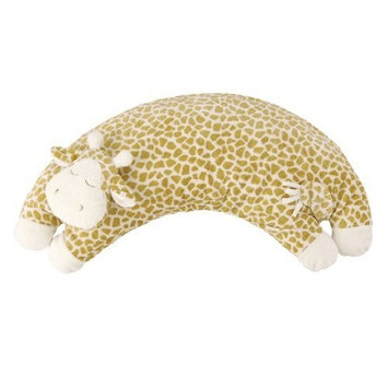 Angel Dear Curved Pillow, Brown Giraffe