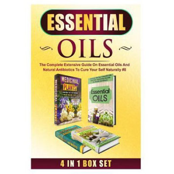Createspace Publishing Essential Oils: The Complete Extensive Guide On Essential Oils And Natural Antibiotics To Cure Your Self Naturally #8