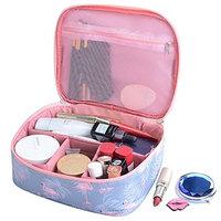 XIDUOBAO Portable Travel Toiletry Bag Hanging Waterproof Makeup Organizer Cosmetic Bag Train Case for Women Girls