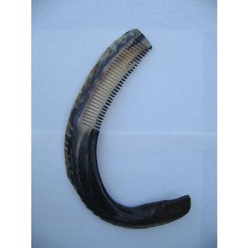 Horn Comb-Trophy Size, dark color