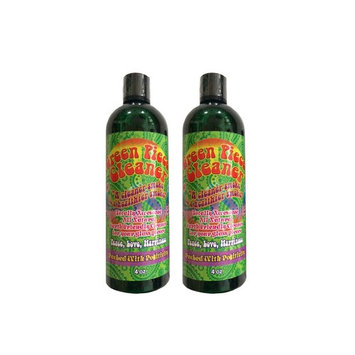 2 count - Green Piece Cleaner 4 oz - The All Natural Glass Cleaner, Metal and Ceramic Water Pipe/Bong/Bubbler - Earth Friendly Resin and Tar Remover