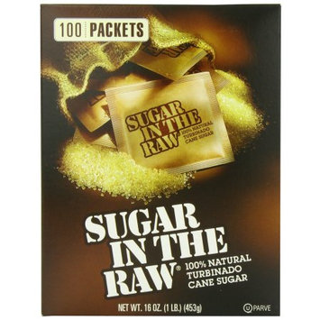Sugar In The Raw Sugar Packets, 100 CT (Pack of 2)