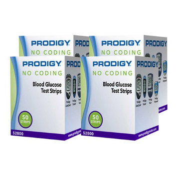 Maxiaids Test Strips for Prodigy Blood Glucose Monitors - 200 Strips