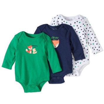 Rene Rofe Baby Newborn Boys' Long Sleeve Bodysuit 3-Piece Set